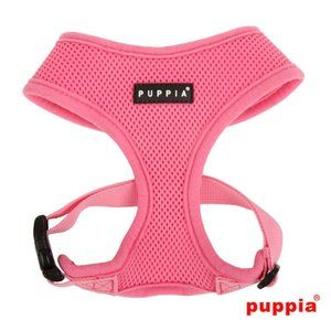 Puppia Soft Harness in Pink